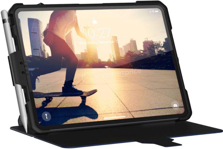 Coque UAG iPad 2018 739x494 - iPad Pro 2018 : une coque de protection confirme son design final