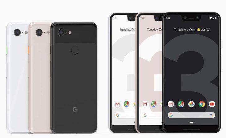Google Pixel 3 & Pixel 3 XL : sortie en France le 2 novembre