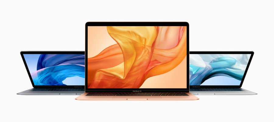 MacBook Air 2018 Apple - Les MacBook Air, Mac Mini & iPad Pro 2018 sont maintenant disponibles à l'achat !