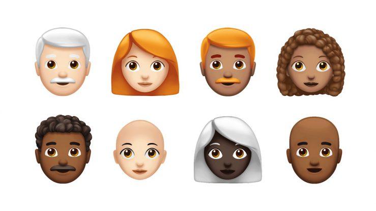 Nouveaux Emojis Roux Cheveux Boucles iOS 12 739x416 - iOS 12.1 arrive avec plus de 70 nouveaux Emoji !