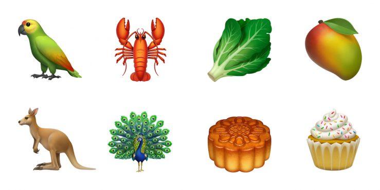 Nouveaux Emojis iOS 12 Animaux Nourriture 739x370 - iOS 12.1 arrive avec plus de 70 nouveaux Emoji !