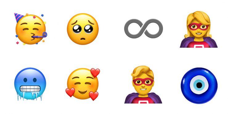 Nouveaux Emojis iOS 12 Super Heros 739x370 - iOS 12.1 arrive avec plus de 70 nouveaux Emoji !