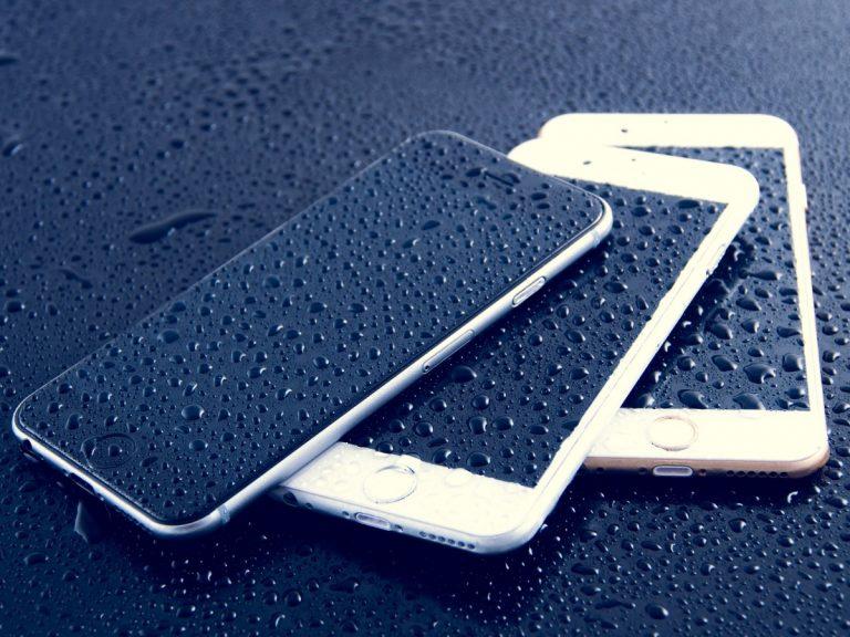 iphone pluie - Brevets : Apple veut améliorer le tactile de l'iPhone sous la pluie