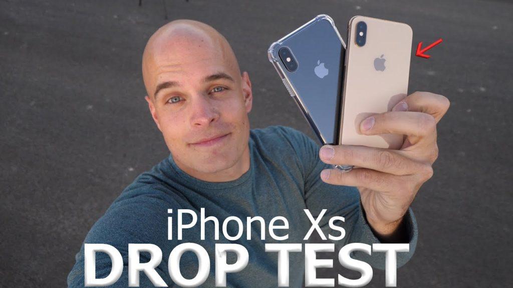 iphone x drop test 1024x576 - Test de chute : l'iPhone XS impressionnant de résistance
