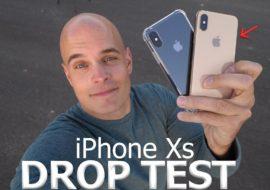 Test de chute : l'iPhone XS impressionnant de résistance