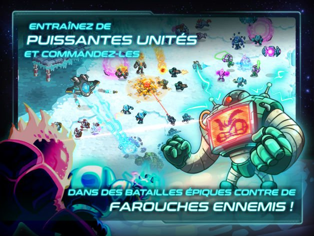 Jeu du jour : Iron Marines (iPhone & iPad – 5,49€)