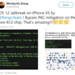 jailbreak ios 12 iphone x pangu twitter 150x150 - Jailbreak iOS 9 : PanGu mis à jour en version 1.1