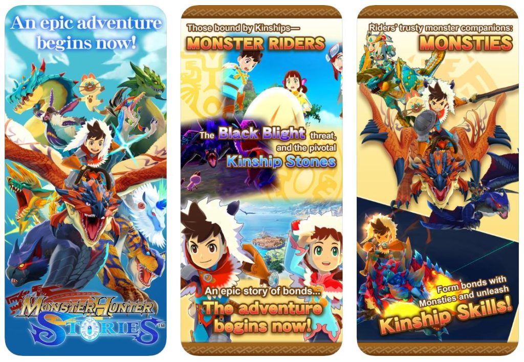 monster hunter stories 1024x708 - Jeu du jour : Monster Hunter Stories (iPhone & iPad - 21,99€)