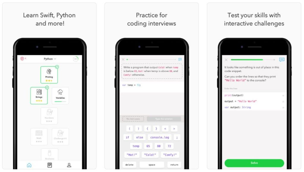 py learn to code app 1024x581 - App du jour : Py - Learn to Code (iPhone & iPad - gratuit)