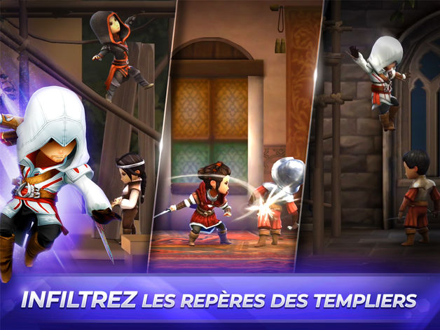 assassins creed rebellion - Assassin's Creed Rebellion est disponible sur iOS & Android
