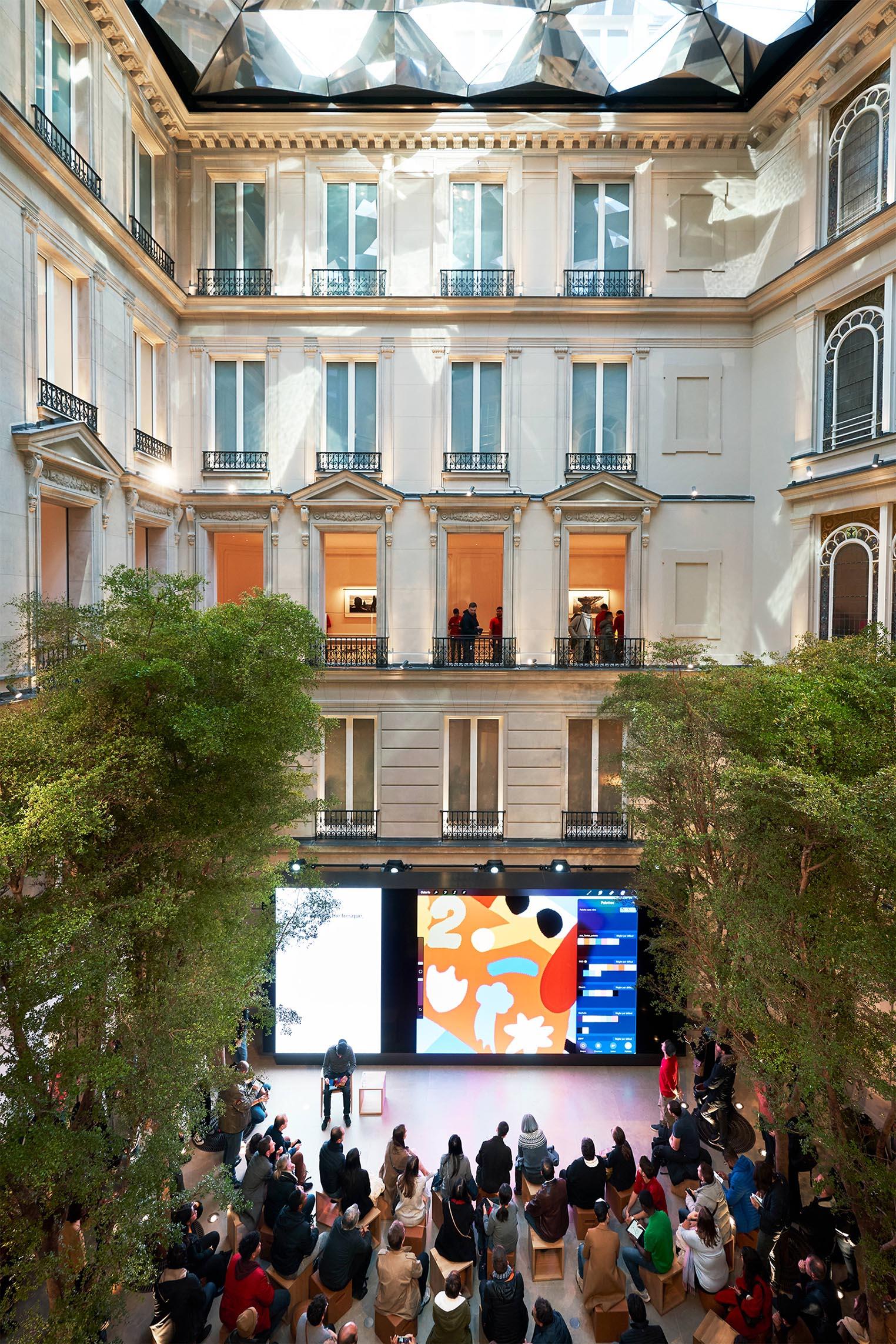 Le nouvel Apple Store des Champs-Élysées est ouvert !