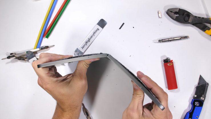 Le nouvel iPad Pro 2018 est-il facilement pliable ?