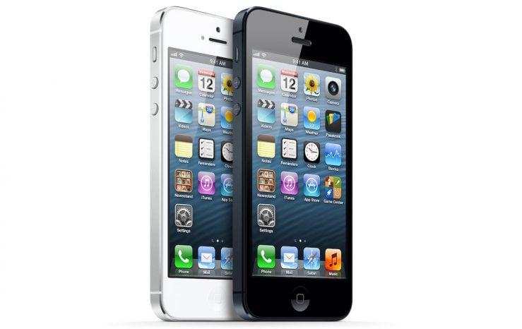 iPhone 5 Noir et Blanc Avant 739x466 - Apple enterre officiellement l'iPhone 5