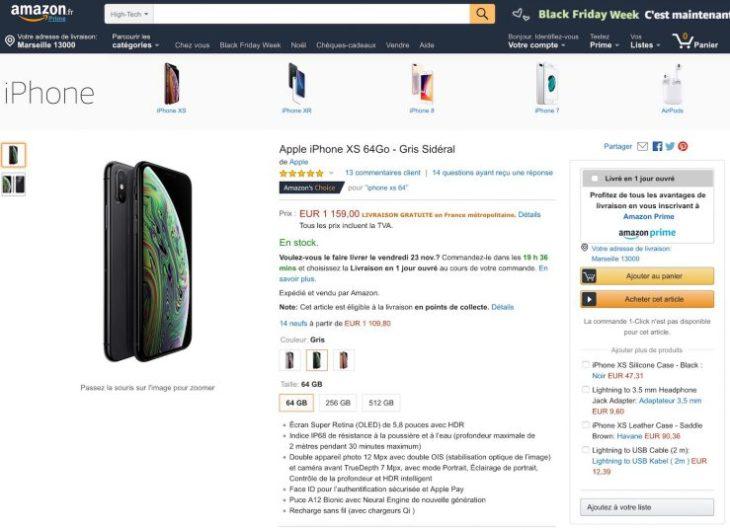 Apple vend désormais ses produits sur Amazon France