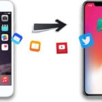 transfert iphone vers iphone x 150x150 - Sauvegarder les SMS iPhone sur son PC