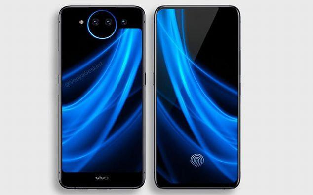vivo nex 2 - Vivo Nex 2 : un smartphone avec 2 écrans et un triple capteur photo