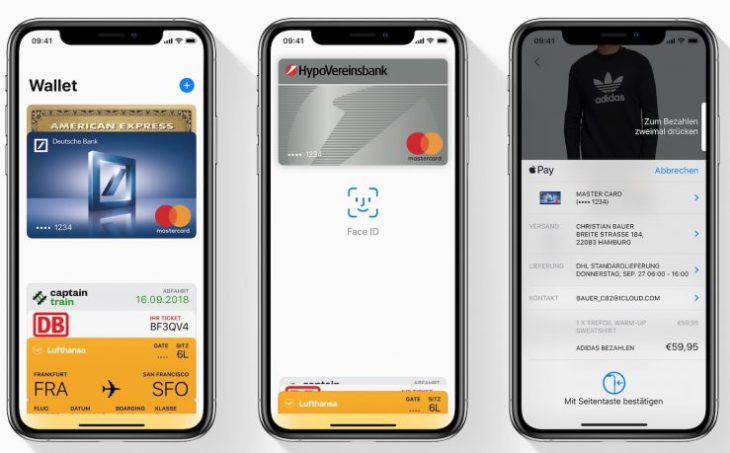 Apple Pay est officiellement disponible en Allemagne