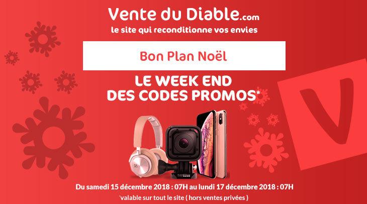 Codes Promo Vente Du Diable : jusqu'à -30€ de réduction pour Noël !