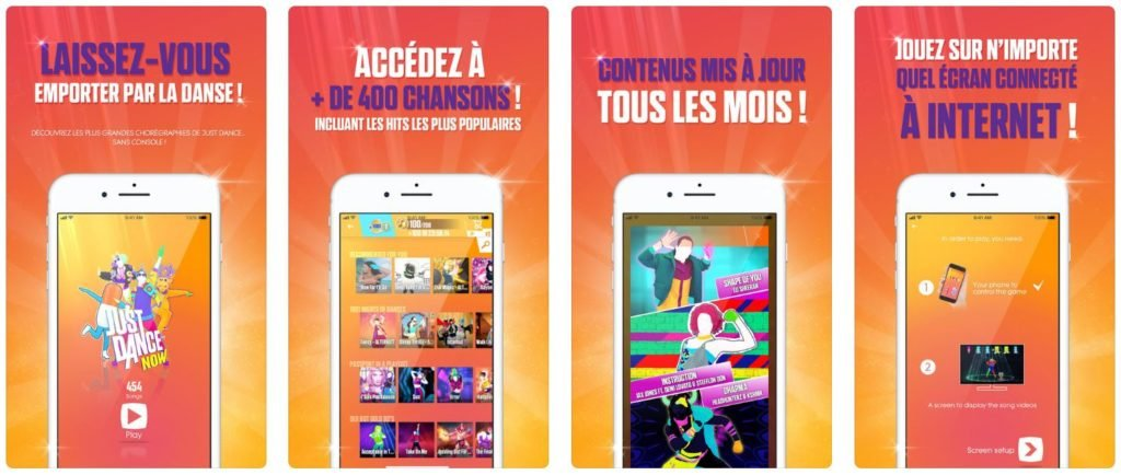 Jeu du jour : Just Dance Now (iPhone & iPad - gratuit)