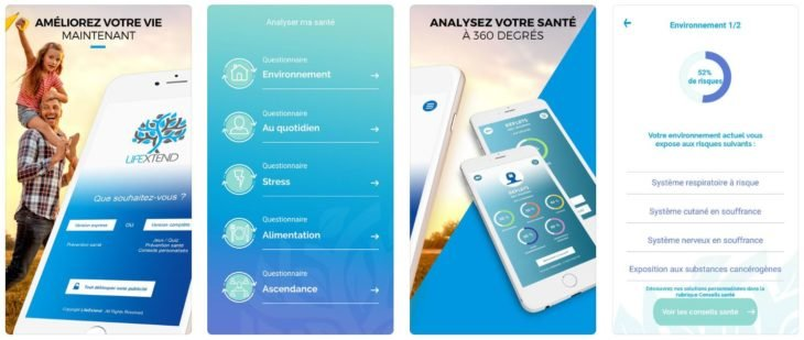Life Xtend : la solution santé disponible sur iPhone & Android