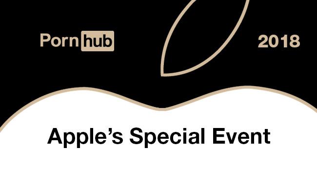 pornhub keynote apple 2018 - PornHub : les Keynotes d'Apple font grandement baisser le trafic