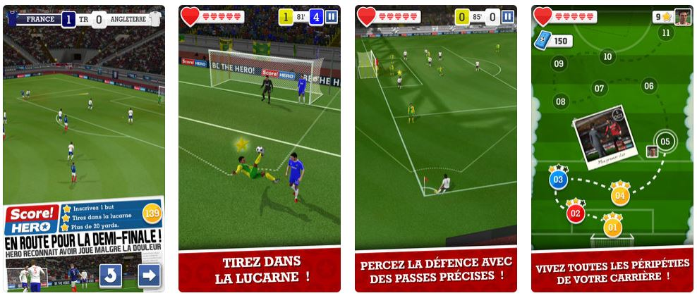 score hero football app - Jeu du jour : Score! Hero (iPhone & iPad - gratuit)