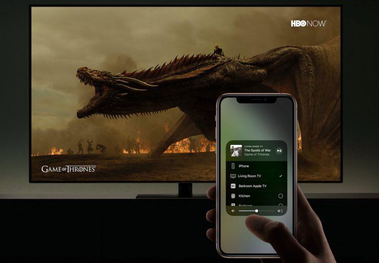 AirPlay 2 TV Connectee Serie 739x512 - Apple : AirPlay 2 annoncé sur plusieurs marques de Smart TV
