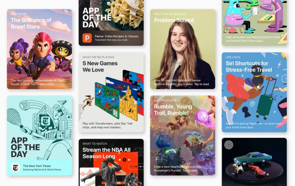 App Store : les clients ont dépensé 1,22 milliard de dollars lors des fêtes