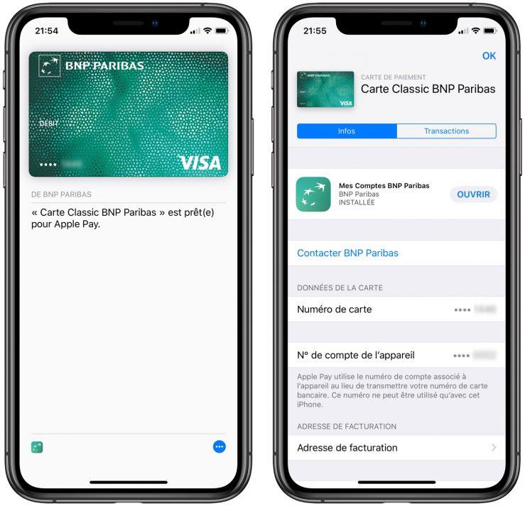 Apple Pay Carte BNP Paribas 739x713 - BNP Paribas & Hello Bank arrivent sur Apple Pay