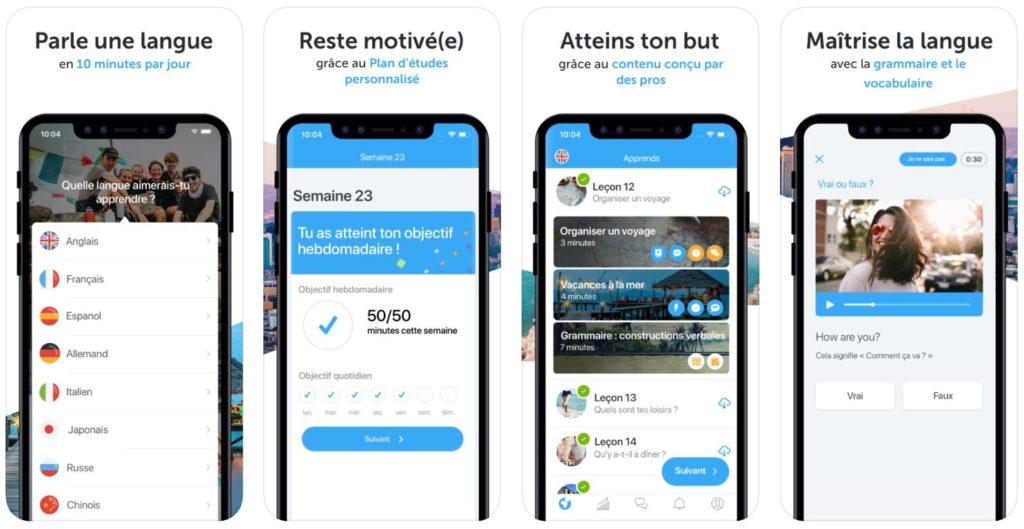 App du jour : Busuu - Cours de langues (iPhone & iPad - gratuit)