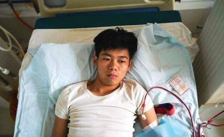 Un chinois, qui a vendu un rein pour l'iPhone 4, en mauvaise santé