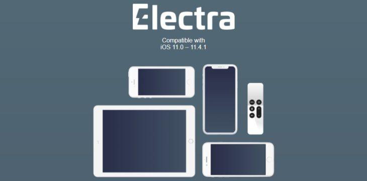 Tutoriel Jailbreak iOS 11 : Electra 1.2.0 supporte maintenant iOS 11.4 & 11.4.1