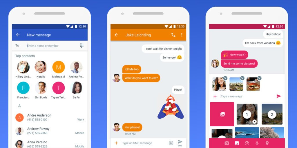 RCS SMS Messages 1024x512 - Apple pourrait intégrer le RCS, le futur du SMS