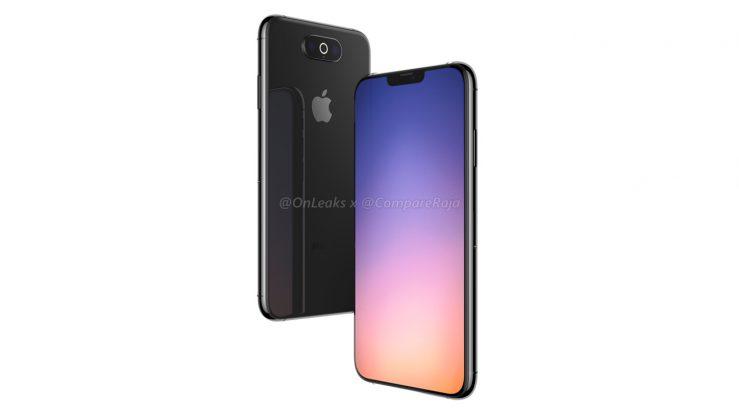 Rendu iPhone 2019 4 739x415 - iPhone de 2019 : des rendus 3D avec triple capteur photo horizontal