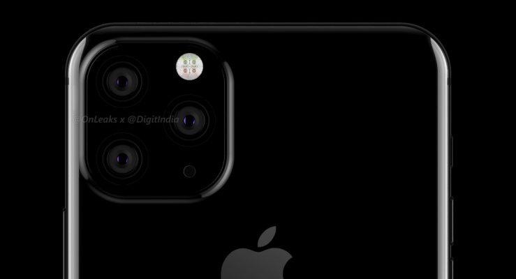 Rendu iPhone 2019 Triple Capteur Photo OnLeaks 2 739x400 - iPhone de 2019 : un aperçu du futur smartphone à 3 capteurs photo