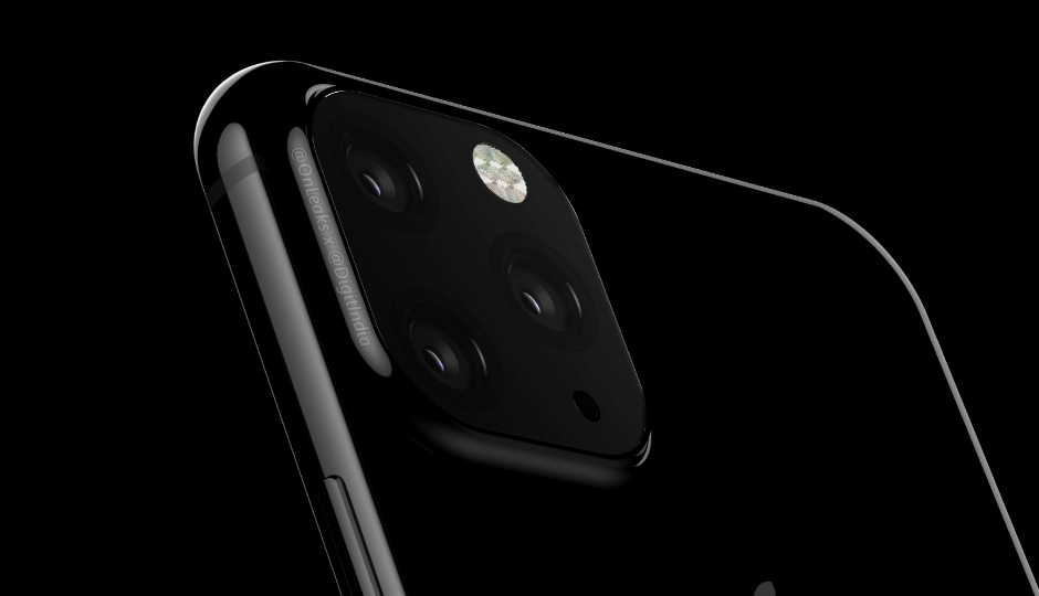 Rendu iPhone 2019 Triple Capteur Photo OnLeaks - iPhone de 2019 : un aperçu du futur smartphone à 3 capteurs photo