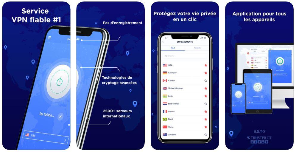 VeePN app iphone - VeePN : un VPN rapide et sécurisé pour iPhone & iPad