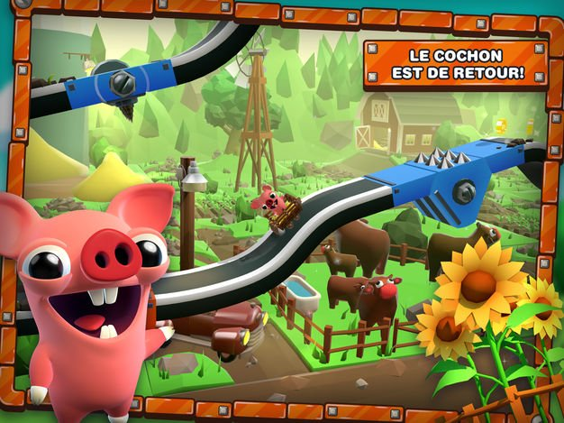 Jeu du jour : Bacon Escape 2 (iPhone & iPad - gratuit)