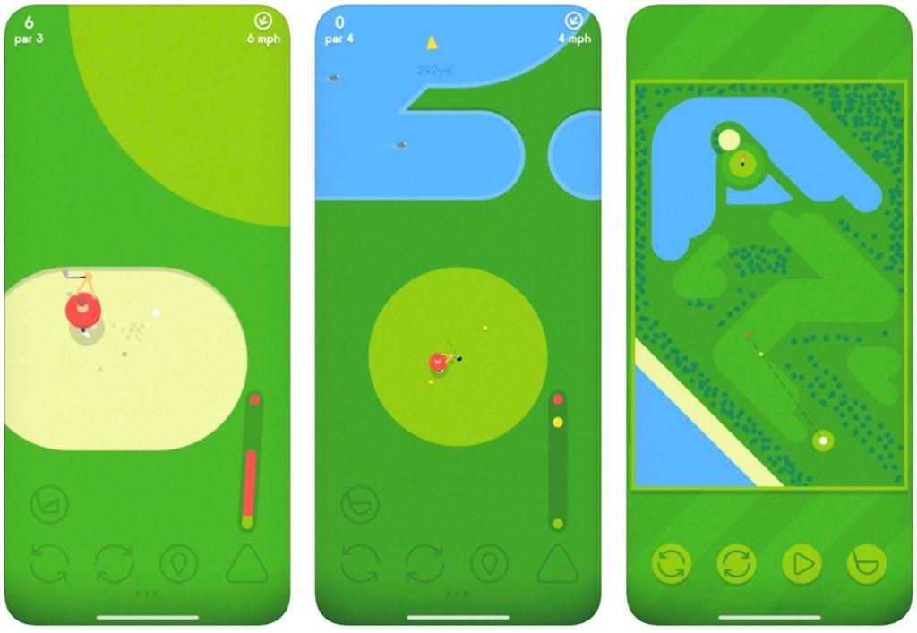 Jeu du jour : Golfing Around (iPhone & iPad - gratuit)