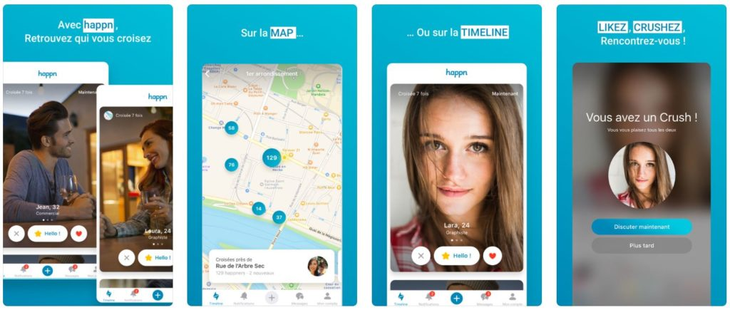 happn app de rencontre iphone 1024x435 - App du jour : Happn - App de rencontre (iPhone - gratuit)