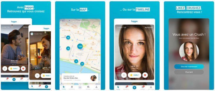 App du jour : Happn – App de rencontre (iPhone – gratuit)