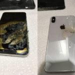 iPhone XS Max Brule 150x150 - Insolite: un iPhone 6 retrouvé intact après une chute d'un avion!