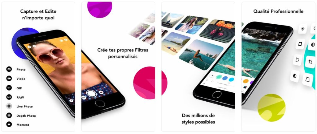 infltr app 1024x435 - App du jour : infltr - infinités de filtres (iPhone & iPad - gratuit)