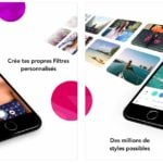 App du jour : infltr - infinités de filtres (iPhone & iPad - gratuit)