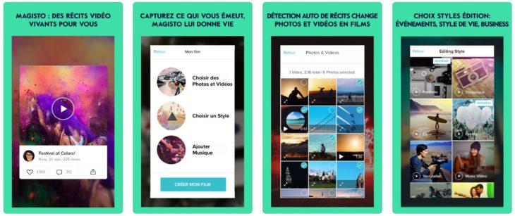 App du jour : Magisto Montage Vidéo & Photo (iPhone & iPad – gratuit)