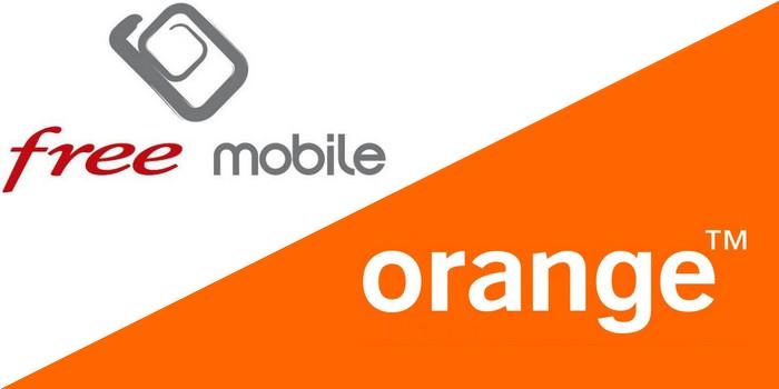 Orange bride encore davantage les abonnés Free Mobile en itinérance