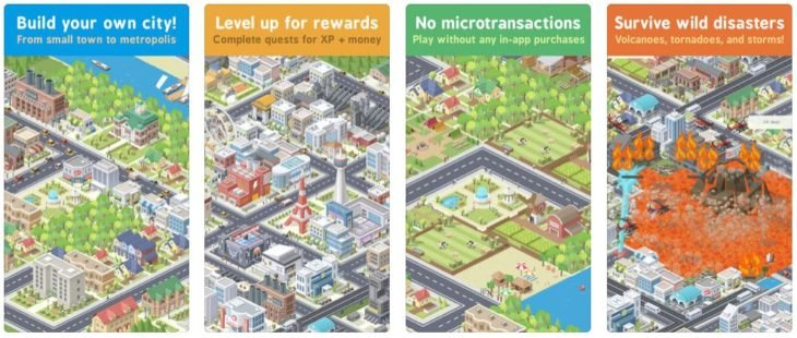 Jeu du jour : Pocket City (iPhone & iPad – 4,49€)
