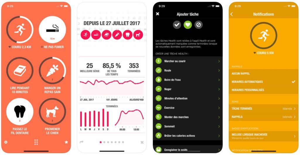 streaks iphone app 1024x529 - App du jour : Streaks (iPhone & iPad  - 5,49€)