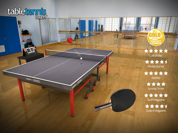 table tennis touch app - Jeu du jour : Table Tennis Touch (iPhone & iPad - gratuit)