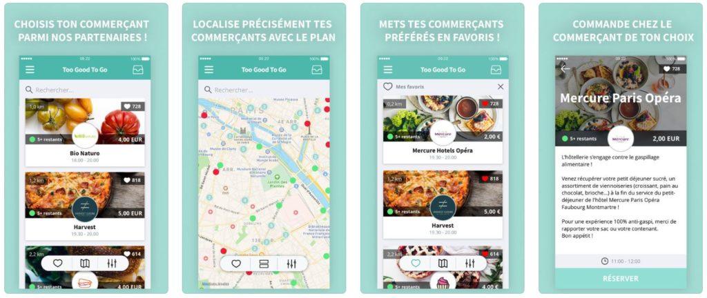 App du jour : Too Good To Go, pas de gaspi (iPhone & iPad - gratuit)
